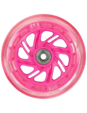 RUEDA FREENZY LAZER PINK 125MM
